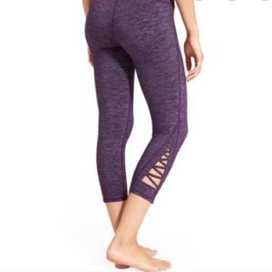 Athleta Cropped Lace-Up Leggings XL